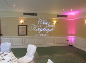 Custom Projection Judges Hotel Yarm