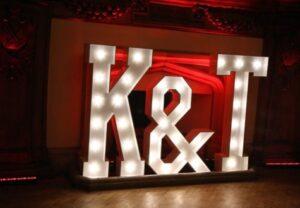 LED Letters Hire Darlington