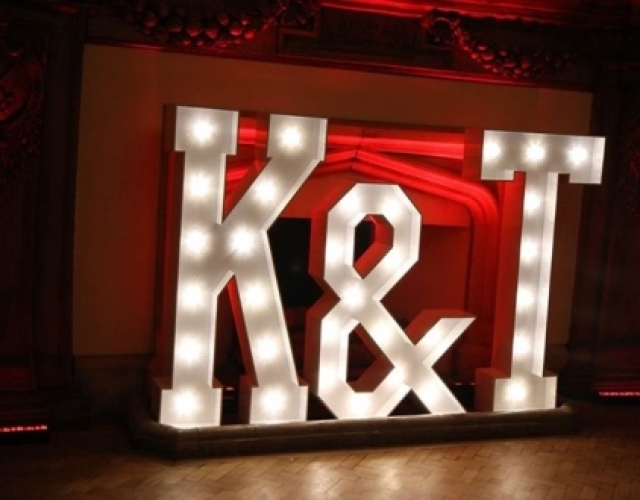 LED Letters Hire Darlington