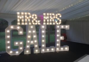 LED Letters Ormesby Hall Middlesbrough