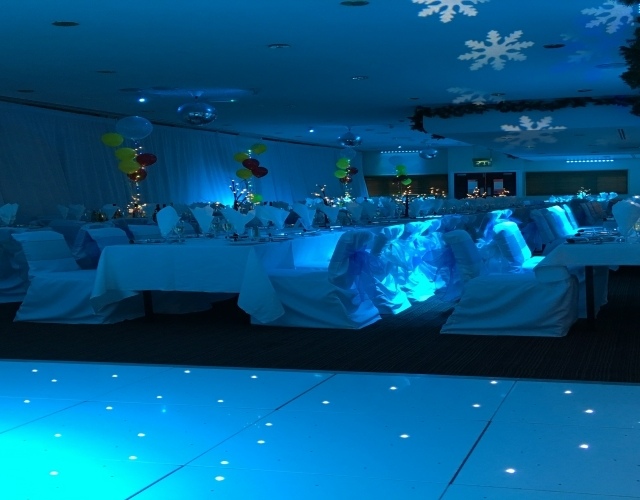 Starlit Twinkly Dance Floor & Mood Lighting Middlesbrough