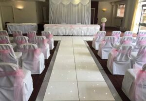 Starlit Wedding Aisle Middlesbrough