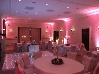 Starlit Dance floor Seaham Hall