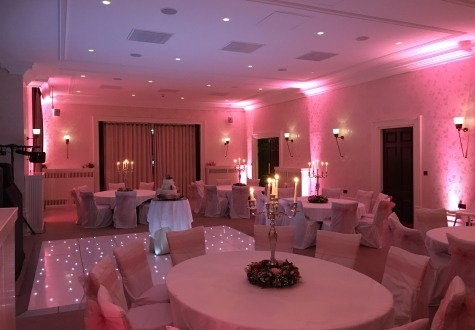 Starlit Dance floor Seaham Hall Durham