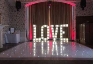 Starlit LED Dance Floor Rushpool Hall Saltburn