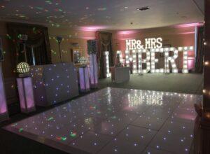 Starlit LED Dance Floor Yarm