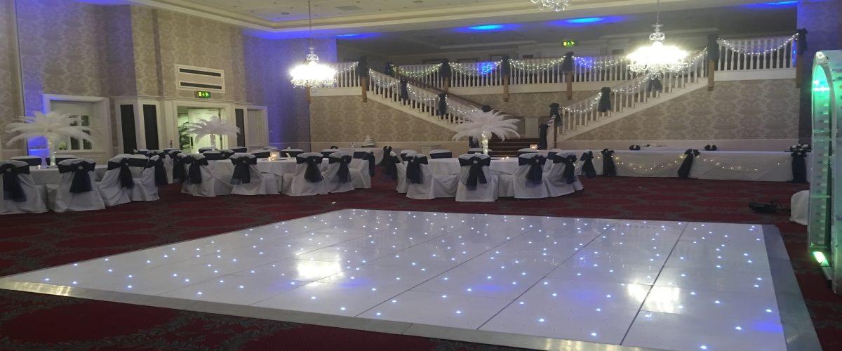 Starlit LED Dance floor Gisborough Hall