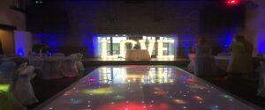Starlit LED Twinkling Dance Floor Barnard Castle
