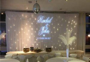 Wedding Curtain Sporting Lodge