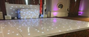 Wedding Disco & Dance Floor Crathorne Hall Yarm