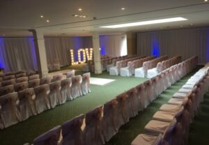 Wedding Venue Drapes Yarm