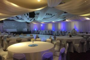 Wedding Venue Draping North East