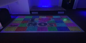 Interactive Customisable Colour Commander Dance Floor Middlesbrough & Darlington