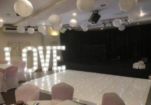 Starlit LED Dance Floor Hire Saltburn