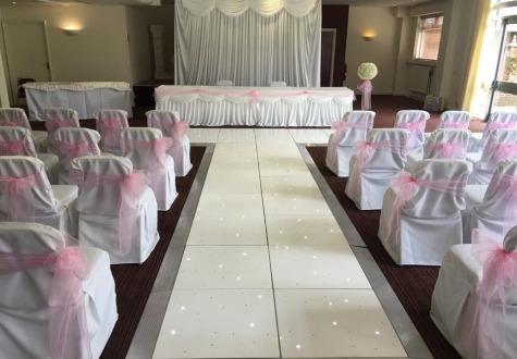 Starlit Wedding Aisle Middlesbrough