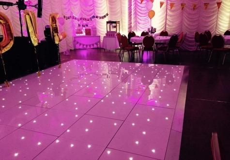 Starlit Wedding Dance Floor Hire Darlington