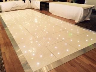 Twinkly LED Dance Floor Hire Darlington