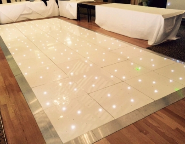 Twinkly LED Dance Floor Hire Darlington