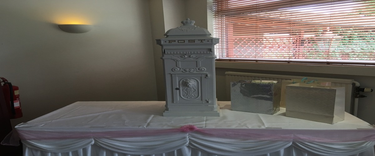 Wedding Post Box Hire Middlesbrough
