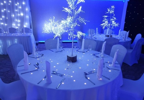 LED Banqueting Tables Darlington & Middlesbrough