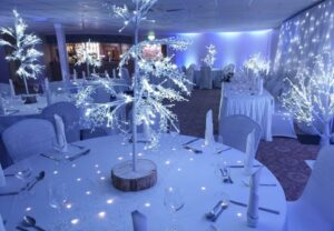 Twinkling LED Wedding Tables North East