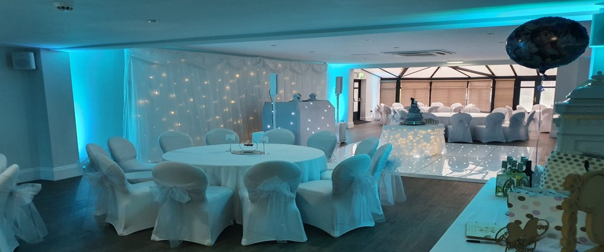 Starlit Twinkling Dance Floor Hire North East