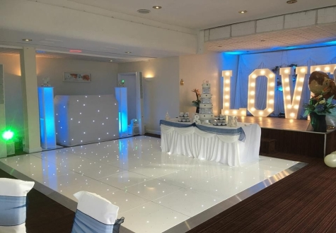 Starlit LED Twinkling Dance Floor Middlesbrough