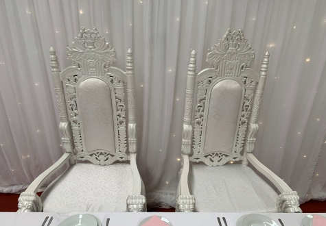 Wedding Throne Chair Hire Middlesbrough