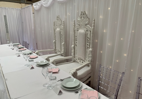 Wedding Throne Chair Hire Darlington